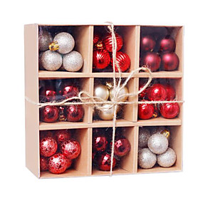 cheap Christmas Decorations-99 Pcs Christmas Balls Ornaments for Xmas Tree - Shatterproof Christmas Tree Decorations Hanging