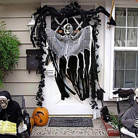 cheap Halloween Toys-Halloween Party Toys Pendant Halloween Hanging Ghost Skull Skeleton Resin Kid's Adults Trick or Treat Halloween Party Favors Supplies