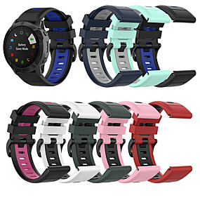 cheap Smartwatch Bands-Silicone Quick Release Watchband Strap for Garmin Fenix 6X / 6X Pro 5X/5X Plus smartwatch Easyfit Wrist Band Strap Fenix3 / fenix3 HR