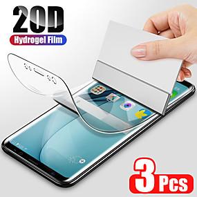 cheap Screen Protectors-3PCS Hydrogel Film For Samsung Galaxy S8 S9 S10 Plus Screen Protector For Samsung Galaxy S10 S9 S10 lite S7 Edge Film Not Glas