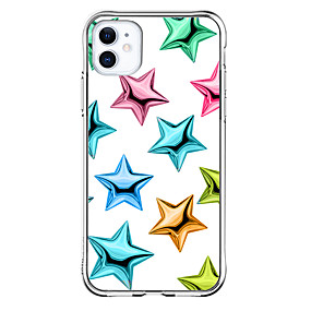 cheap Cases & Covers-Star Graphic Design Case For Apple iPhone 12 iPhone 12 Mini iPhone 12 Pro Max Unique Design Shockproof Back Cover TPU