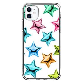 abordables Estuches y Cubiertas-Superficie de Cristal Caso por Apple iPhone 12 iPhone 12 Mini iPhone 12 Pro Max Diseño unico Antigolpes Funda Trasera TPU