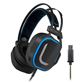 cheap Gaming Headsets-LITBest magic v10 Gaming Headset USB Wired with Microphone with Volume Control Sweatproof for Gaming
