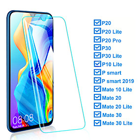 Bear Village Anti Scratch Tempered Glass Screen Protector for Huawei Honor 9I 4 Pack Ultra Thin Transparent Ultra Clear Screen Protector for Huawei Honor 9I