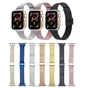 cheap Smartwatch Bands-Watch Band for Apple Watch Series 5/4/3/2/1 Apple Classic Buckle / Milanese Loop Stainless Steel Wrist Strap