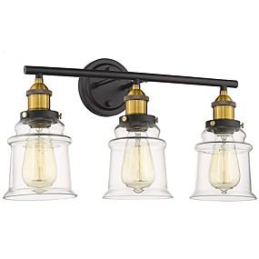저렴한 벽 스콘-거울 빛 허영 빛 sconces 목욕탕 점화 철 벽 빛 110-120v / 220-240v