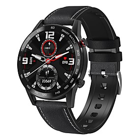 cheap Smart Watches-DT95 Men's Smartwatch Bluetooth Heart Rate Monitor Blood Pressure Measurement Calories Burned Health Care Information Stopwatch Pedometer Call Reminder Sedentary Reminder Find My Device