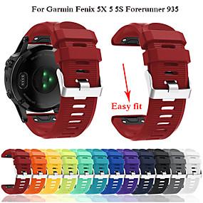 cheap Smartwatch Bands-Watch Band for Fenix 5x / Fenix 5s / Fenix 5 Garmin Modern Buckle Silicone Wrist Strap