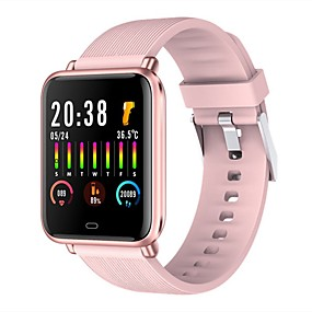 cheap Smart Watches-Q9T Unisex Smartwatch Bluetooth Heart Rate Monitor Blood Pressure Measurement Calories Burned Thermometer Health Care Pedometer Call Reminder Sedentary Reminder Find My Device Alarm Clock