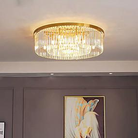 billige Takbelysning og vifter-QIHengZhaoMing 80 cm Pendant Lantern Desgin Skyllmonteringslys Metall galvanisert Moderne 110-120V 220-240V