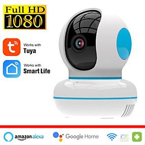 cheap Indoor IP Network Cameras-Tuya Smart Life TV-268 Full HD 2 mp IP Camera Indoor Two-way Speaking Motion Detection Support 128 GB