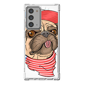 cheap Cases & Covers-Dog Case For Samsung S20 Plus S20 Ultra S20 Unique Design Protective Case Shockproof Back Cover TPU