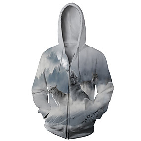 cheap Athleisure Wear-unisex 3d cool printed hoodies personalized hooded sweater sweatshirt, small