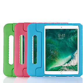 cheap iPad case-Case For Apple iPad Pro (2018) 12.9'' Shockproof / with Stand / Child Safe Back Cover Solid Colored Silica Gel