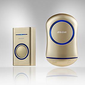 cheap Doorbell Systems-YB-P188 Wireless One to Two Doorbell Hands-free / Music / Ding dong Waterproof / Intercom Indoor / Outdoor / Kitchen