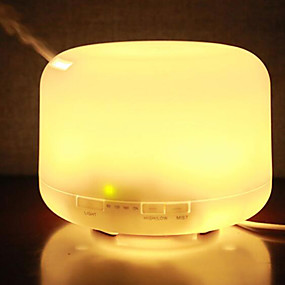 cheap Bathroom Gadgets-1000ML Colorful Night Light Humidifier Aromatherapy Machine Humidifier Mute Home Office