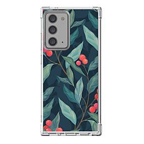 preiswerte Etuis & Hüllen-Blatt Fall Zum Samsung Galaxy S21 Galaxy S21 Plus Galaxy S21 Ultra Einzigartiges Design Schutzhülle Stoßresistent Rückseite TPU