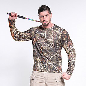 cheap Camping, Hiking & Backpacking-men's doss cabin long sleeve camo tee, 3x-large, realtree edge