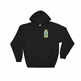 cheap Men-lyrical shirt lemonade, lyricallemonade merch hooded sweatshirt black