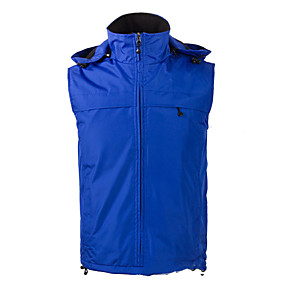 cheap Camping, Hiking & Backpacking-Men's Hiking Fleece Jacket Fishing Vest Work Vest Outdoor Casual Lightweight with Multi Pockets Fall Winter Travel Cargo Safari Photo Wear Resistance Breathable Waistcoat Jacket Coat Top