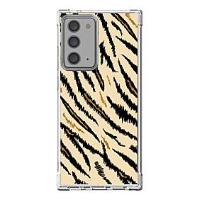 abordables Estuches y Cubiertas-Estampado Leopardo Caso por Samsung S20 Plus S20 Ultra S20 Diseño unico Estuche protector Antigolpes Funda Trasera TPU