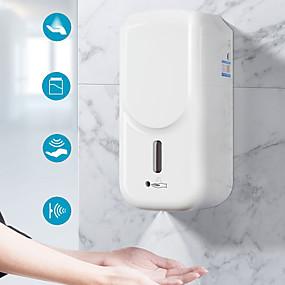 billige Soap Dispensers-berøringsfri automatisk væskedispenser maskin høyt volum 1000 ml automatisk induksjonsmaskin berøringsfri veggmontert dispenser