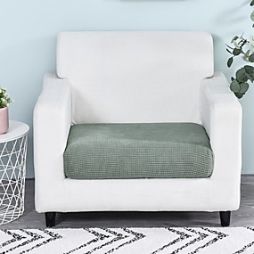 cheap Slipcovers-1 Piece Easy-Going Stretch Cushion Cover Sofa Cushion Furniture Protector Sofa Seat Cover Sofa slipcover Sofa Cover Soft Flexibility with Elastic Bottom