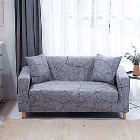 cheap Slipcovers-1-Piece Sofa Cover Couch Cover Furniture Protector Soft Stretch Sofa Slipcover Spandex Jacquard Fabric Super Fit for 1~4 Cushion Couch and L Shape Sofa,Easy to Install