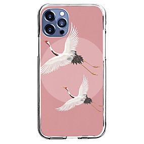 cheap Cases & Covers-Chinese Style Case For Apple iPhone 12 iPhone 11 iPhone 12 Pro Max Unique Design Protective Case Shockproof Back Cover TPU