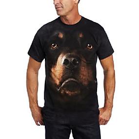 cheap Athleisure Wear-rotweiller face t-shirt size xxxl