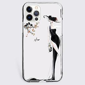 preiswerte Etuis & Hüllen-Modisch Fall Zum Apfel iPhone 12 iPhone 11 iPhone 12 Pro max Einzigartiges Design Schutzhülle Stoßresistent Rückseite TPU
