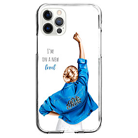 cheap iPhone Case-Characters Case For Apple iPhone 12 iPhone 11 iPhone 12 Pro Max Unique Design Protective Case Shockproof Back Cover TPU
