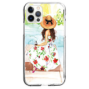 cheap Cases & Covers-Characters Case For Apple iPhone 12 iPhone 11 iPhone 12 Pro Max Unique Design Protective Case Shockproof Back Cover TPU
