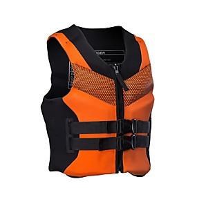 cheap Surfing, Swimming & Diving-SBART Life Jacket Floating Fast Dry Wearable Neoprene EPE Foam Swimming Water Sports Sailing Life Jacket for Adults