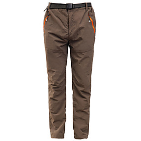cheap Camping, Hiking & Backpacking-Women's Hiking Pants Trousers Summer Outdoor Waterproof Sunscreen Multi-Pockets Quick Dry Pants / Trousers Bottoms Red Army Green Black Grey Khaki Hunting Fishing Climbing S M L XL XXL / Lightweight