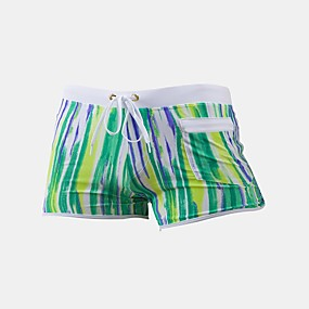 cheap Surfing, Swimming & Diving-Men's Swim Shorts Swim Trunks Bottoms Quick Dry Swimming Surfing Water Sports Summer