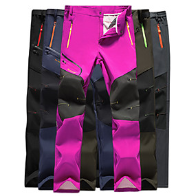 cheap Camping, Hiking & Backpacking-Women's Hiking Pants Trousers Patchwork Summer Outdoor Quick Dry Multi Pockets Breathable Stretchy Nylon Pants / Trousers Blue Army Green Fuchsia Black Grey Hunting Fishing Climbing L XL XXL XXXL 4XL