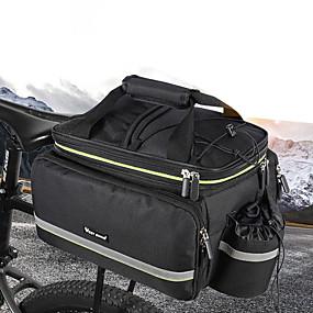 Deluxe Nylon Vélo Bagage Sac//Tan /& orange NEUF!