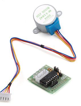 preiswerte Unterhaltungselektronik-5v 4-phasige 5-adrige Schrittmotor-Treiberplatine uln2003 für arduino