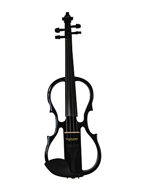 cheap Musical Instruments-Cozart - (ML012) 4/4 Jujube Parts Electric Violin with Case/Bow/Rosin/Cable/Battery