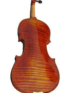 preiswerte Violinen-4/4 hochwertigen 1-teilig Flamme Ahorn Violine Outfit