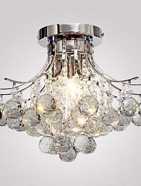 preiswerte Haus & Garten-Lightinthebox Einbauleuchten Raumbeleuchtung Chrom Metall Kristall, Ministil 110-120V / 220-240V / E12 / E14