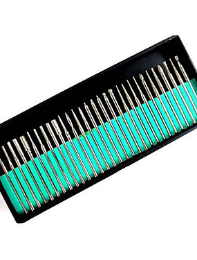 voordelige Nagelmanicure & pedicure-instrumenten-30pcs Metaal Nail Art Tool Voor Vingernagel Teennagel Other Duurzaam Nagel kunst Manicure pedicure Klassiek / leuke Style Dagelijks