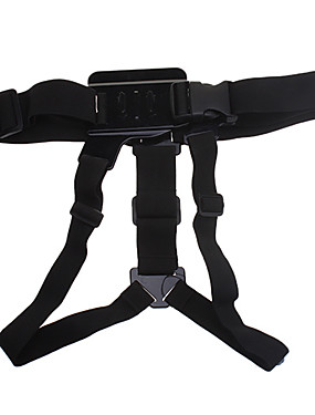 cheap Sports & Outdoors-adjustment elastic body chest strap mount belt harness for gopro hero 3 hero 2