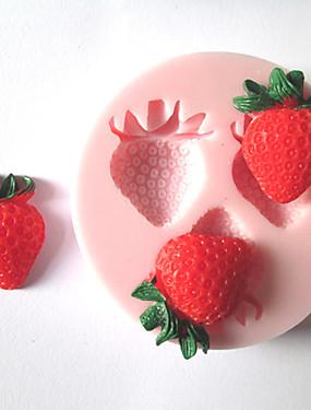 preiswerte Waagen-1pc Silikon Umweltfreundlich Heimwerken Kuchen Plätzchen Obstkuchen Backform Backwerkzeuge