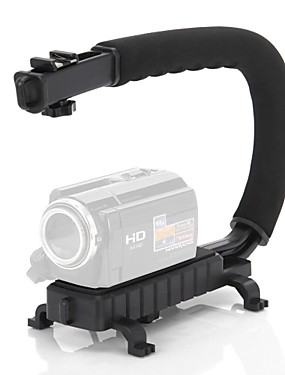 cheap Video Accessories-C Shape Video Stabilizer Handle Mount Grip for DV Camcorder DSLR Camera