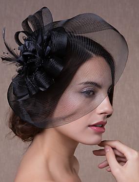 povoljno 11-11 Super Sale-Kristal / Tekstil / Organza tijare / Fascinators / Cvijeće s 1 Vjenčanje / Zabava / večer Glava / kape