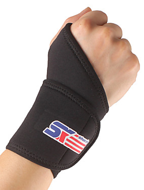 cheap Sports & Outdoors-SHUOXIN Hand & Wrist Brace Wrist Support Wrist Protection for Hiking Climbing Cycling / Bike Outdoor Nylon Lycra Spandex 1pc Sport Outdoor clothing Black