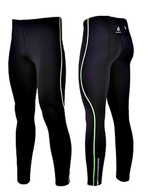 cheap Sports & Outdoors-WOLFBIKE Men's Running Tights Bike Tights Reflective Strips Sports Spandex Green / Blue Mountain Bike MTB Road Bike Cycling Clothing Apparel Advanced Relaxed Fit Bike Wear / High Elasticity