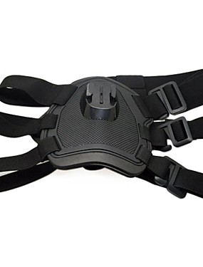cheap Sports & Outdoors-Straps Mount / Holder Dogs & Cats Comfortable Elasticity 1 pcs For Action Camera Gopro 6 Gopro 5 Gopro 4 Gopro 4 Session Gopro 3 Surfing Ski / Snowboard Auto / Gopro 3+ / Gopro 1 / SJ4000 / SJ5000